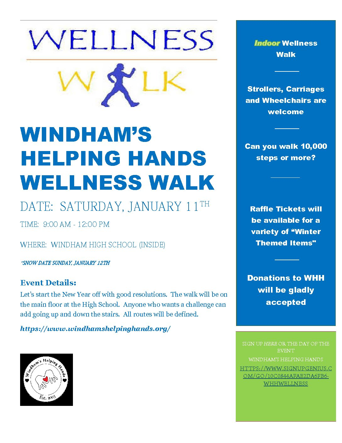 2nd Annual Wellness Walk
